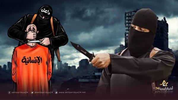 """صورة جرائم """"داعش"""" في درنة …عقيد متقاعد بجهاز الأمن الخارجي: """"ذبحوا"""" ابني وأخفوا رفاته..أتمنى أن أدفنه بما يليق به"""