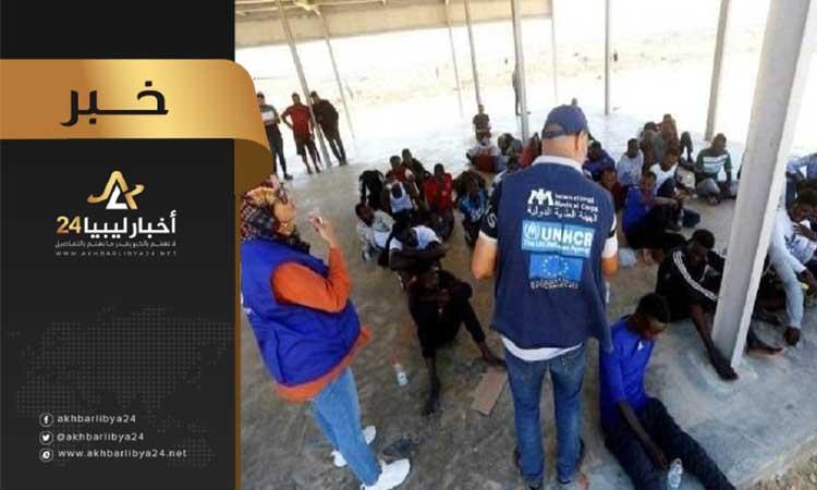 صورة رواندا تستقبل الدفعة الأولى لمهاجرين عالقين في ليبيا