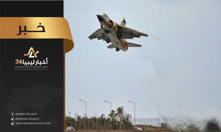 """صورة مصادر تنفي لـ""""أخبار ليبيا24″ تنفيذ ضربات جوية على مطار زوارة"""