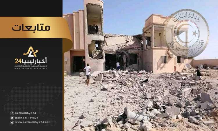 """صورة لرغبة بعض الدول بعودة """"داعش"""" بسرت .. مجلس الدولة: استهداف قوات حفتر لقوة حماية سرت يهدف لتوسيع دائرة الصراع"""