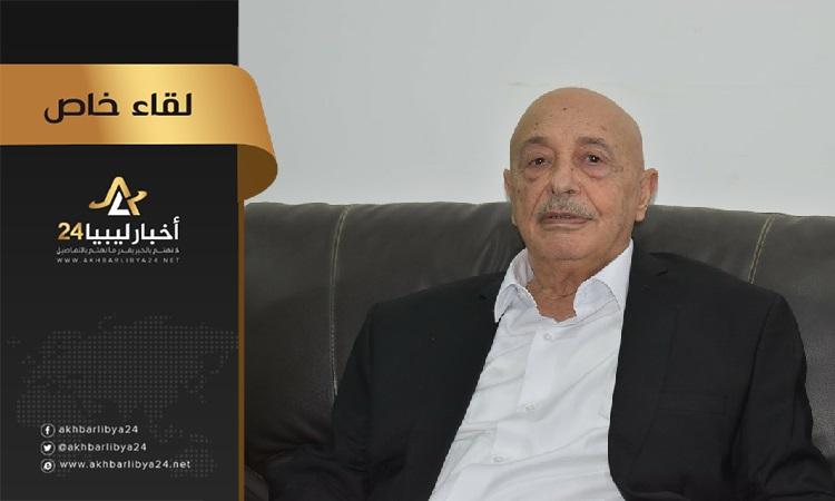 صورة عقيلة صالح يثني على طبرق ويؤكد على ضرورة حل أزماتها