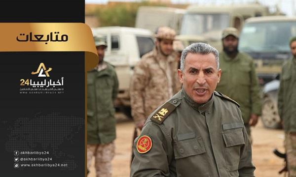 """صورة آمر اللواء 73 مشاة اللواء علي القطعاني: ساعة """"الصفر"""" لاقتحام طرابلس """"حُددت"""""""