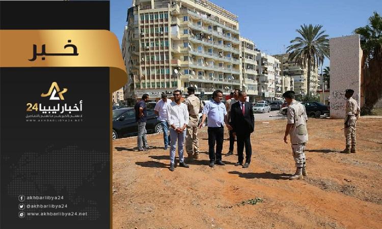 صورة البدء في تطوير المتنزهات والحدائق في بنغازي