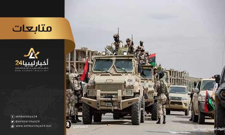 صورة البوعيشي: قوات الوفاق منهارة في كافة محاور القتال بطرابلس