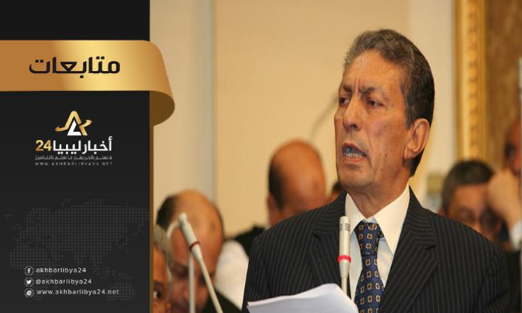 صورة نائب رئيس البرلمان العربي : يجب ألا تصبح ليبيا مسرحًا للعب الصغار إقليميًا ودوليًا