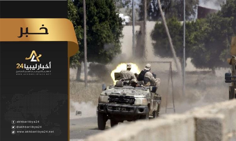 صورة بعض قتلى الوفاق خلال المعارك ضد القوات المسلحة في طرابلس