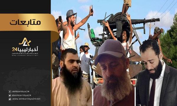 صورة نشطاء..من علامات مدنية الدولة في طرابلس ضابط شرطة بإمرة شيخ وعقيد بإمرة آمر مليشيا وطبيب يرأسه مهرب وقود