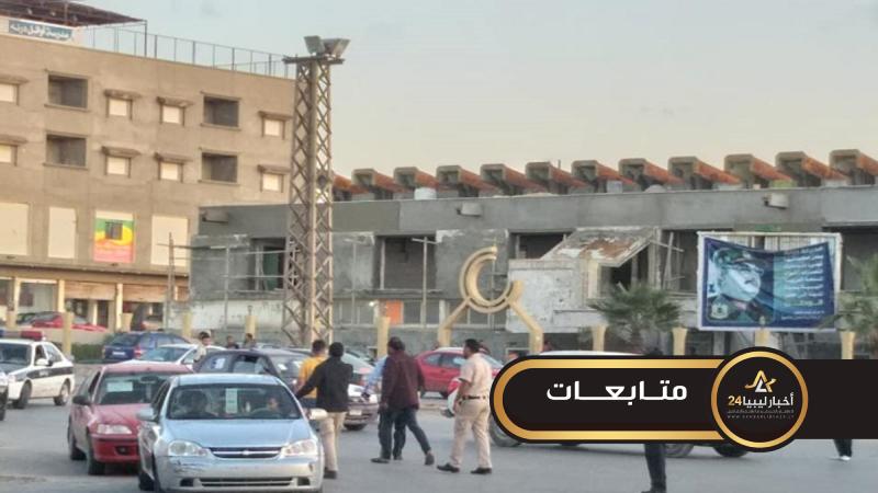 صورة أخبار ليبيا24 ترصد حملة للمرور وسط درنة