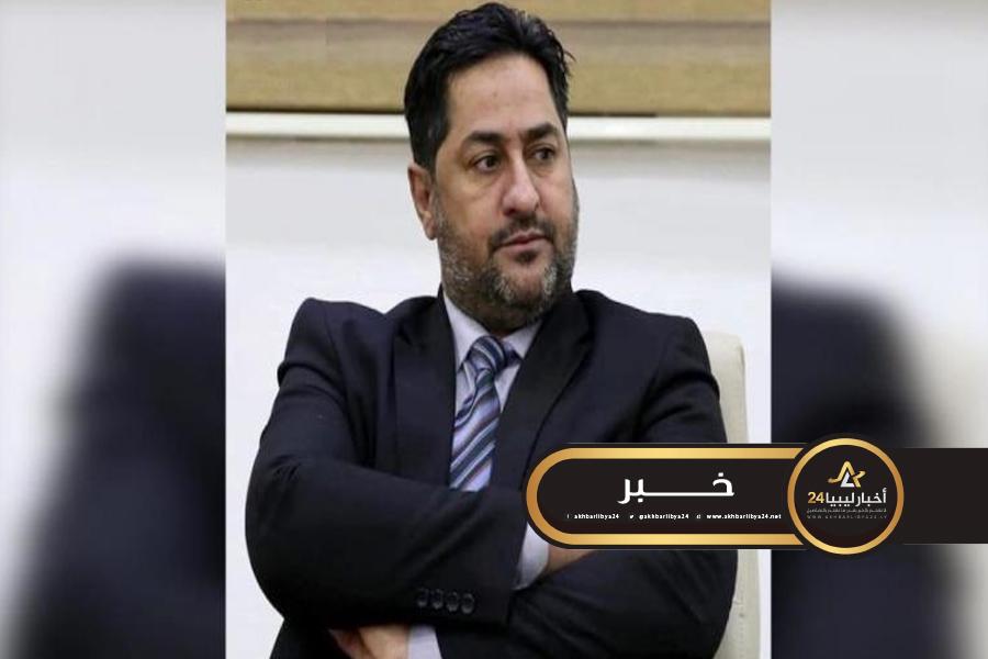 صورة النائب امغيب: حكومة السراج أيقنت قرب زوالها وتسعى لسرقة أموال الشعب