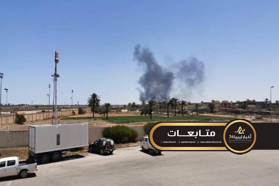 صورة بليحق يكشف عن أسباب فرض حظر الطيران فوق طرابلس