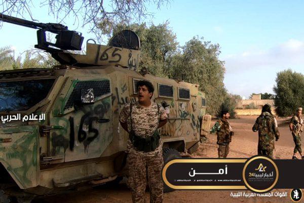صورة محاولا استخدام أسلحة موجهة..وحدات اللواء 73 مشاة تصد محاولة تقدم لقوات الوفاق