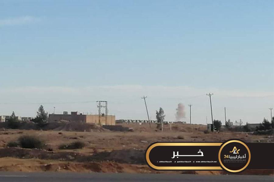 صورة مصدر عسكري: مهبط كاباو كان يُجهّزه الجويلي للعمليّات العسكريّة