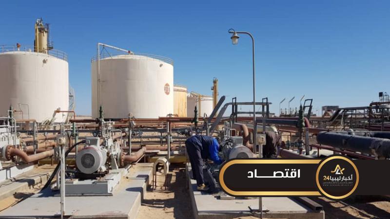 صورة إعادة الإنتاج بحقل الغاني النفطي بقدرة إنتاجية ستصل لثمانية آلاف برميل يوميا