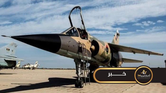 """صورة التابعة لقوات الوفاق..غارات جوية على كتيبة """"الساعدي سابقًا"""" جنوب سرت"""