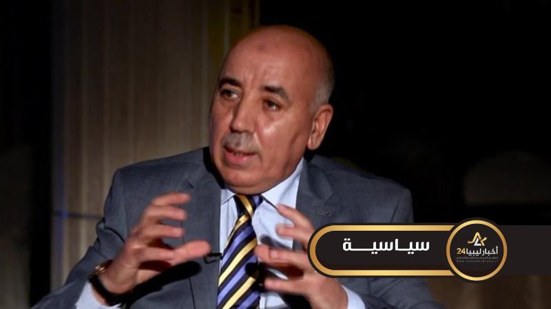 صورة جمعة القماطي: حكومة الوفاق استردت سيادة ليبيا على مساحة بحرية تسيطر عليها اليونان
