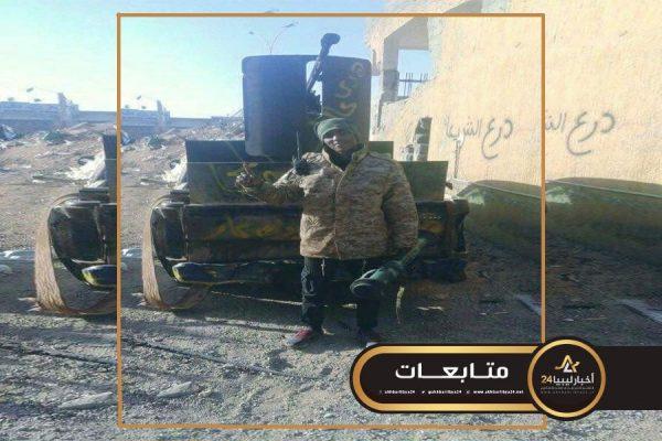 """صورة يملك سجلا إجراميًا..إصابة القيادي """"السبهاوي"""" في المعارك ضد الجيش في طرابلس"""
