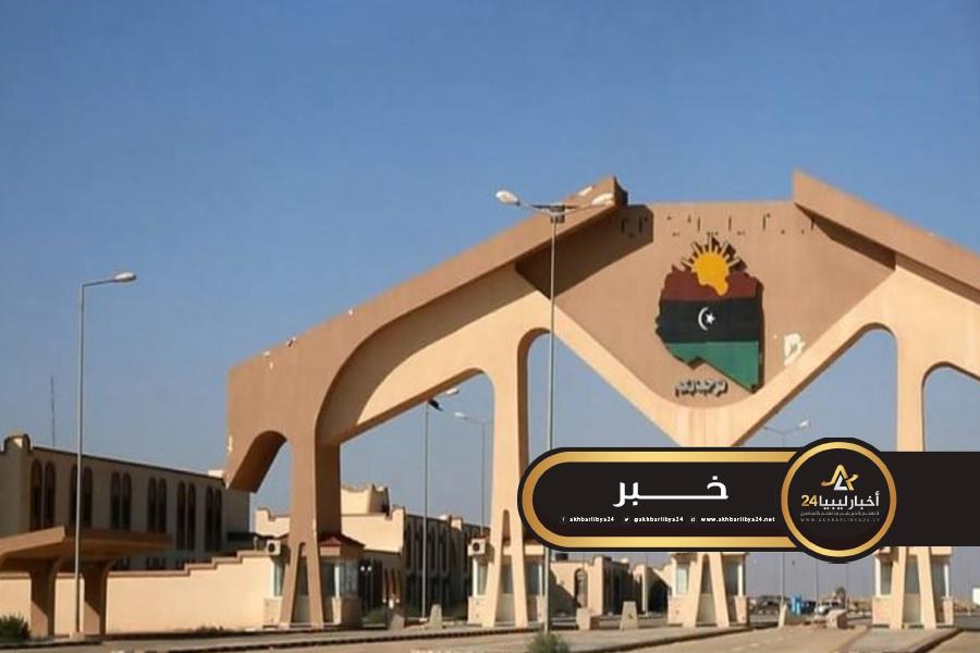 صورة غرامات وإجراءات قانونية ضد مهربي الوقود بمنفذ أمساعد البري
