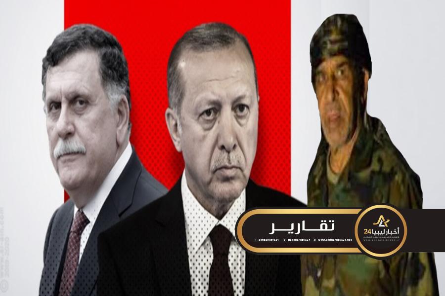 صورة مطالبًا بمحاكمته وإعدامه.. بن نايل: السراج والإخوان سلموا ليبيا لأردوغان