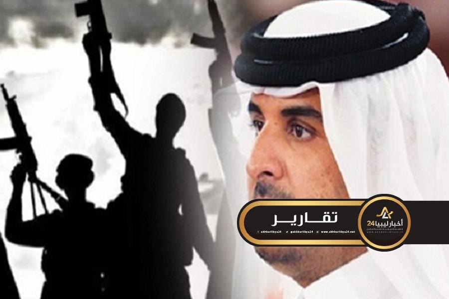 صورة تلبية لطلب السراج.. تميم يمول عملية نقل المرتزقة من سوريا إلى ليبيا