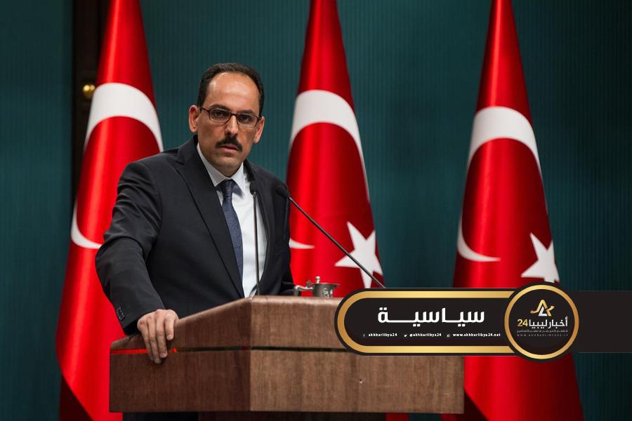 صورة في مزاعم جديدة .. الرئاسة التركية تكشف عن إحباطها للعديد من المؤامرات في ليبيا