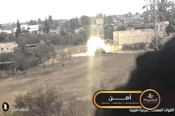 """صورة الخرطوش: اشتباكات قوية في """"صلاح الدين"""" عقب محاولة قوات الوفاق استرجاع المراصد التي فقدتها"""