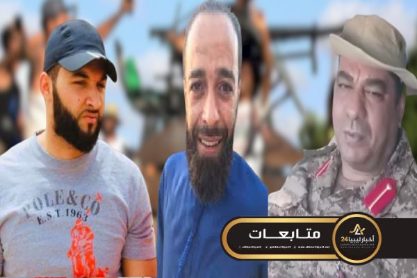"""صورة عسكري من مصراتة يهاجم """"ثوار طرابلس"""" ويصف قادتها بأنهم مجرمون وأبطال """"الاعتمادات"""""""