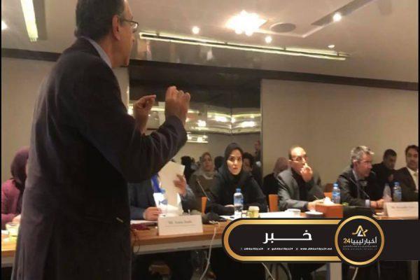 صورة مشاركة ليبية في اجتماع الخبراء العرب التابع للإسكوا