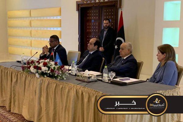 صورة الحكم المحلي والأمم المتحدة تستضيفان اجتماعًا حول النزوح في ليبيا