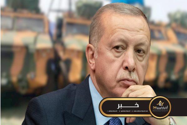 صورة أردوغان: من حقّ تركيا إرسال قوّات عسكريّة إلى ليبيا