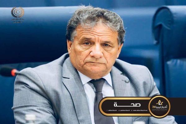 صورة عقوب يوجه القطاع الصحي الليبي برفع حالة الطوارئ القصوى