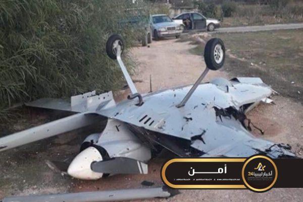 صورة المتحدث باسم القيادة: الطائرة التركية التي أسقطتها القوات المسلحة من الطراز الأول