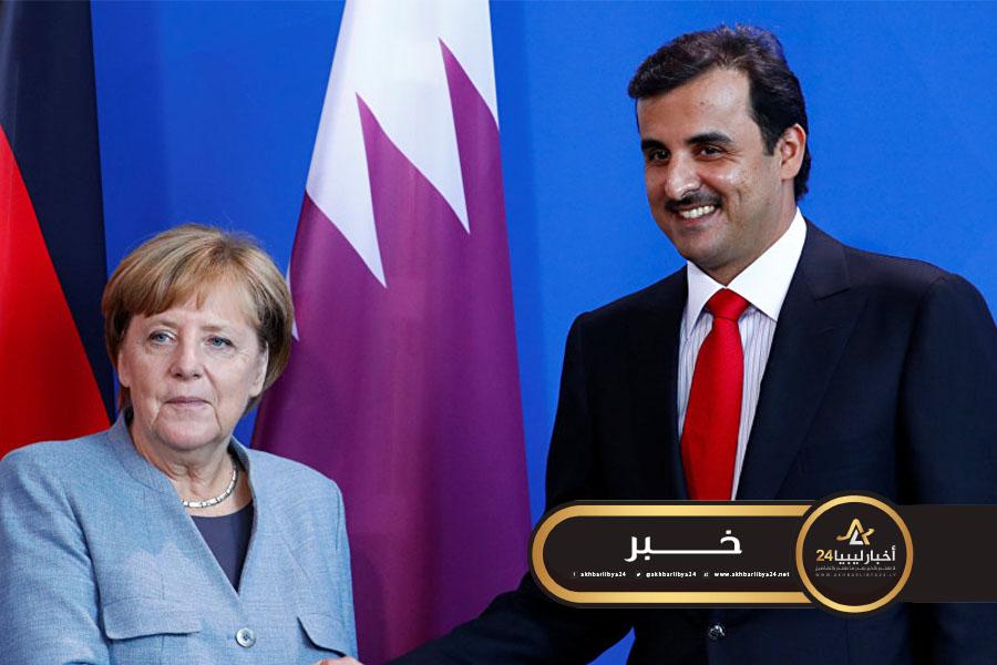 صورة قطر وألمانيا تشددان على ضرورة الالتزام بوقف إطلاق النار والتهدئة في ليبيا