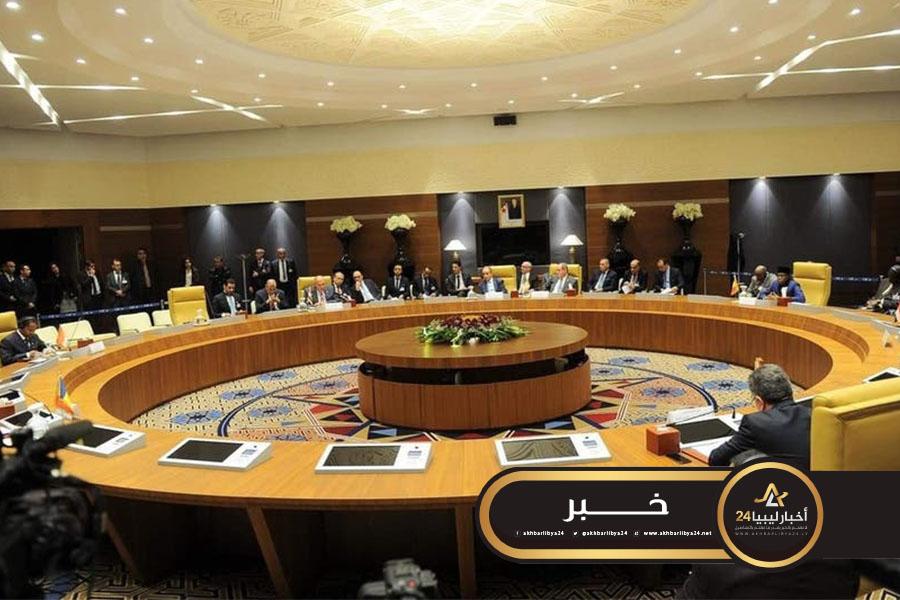 صورة وزراء خارجية دول جوار ليبيا يطالبون بحل عاجل للأزمة دون تدخل أجنبي