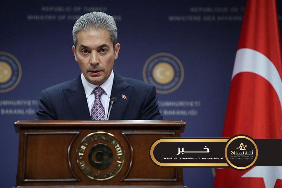 """صورة تركيا تصف اتهامات ماكرون لها حول ليبيا بـ""""خسوف للعقل"""""""