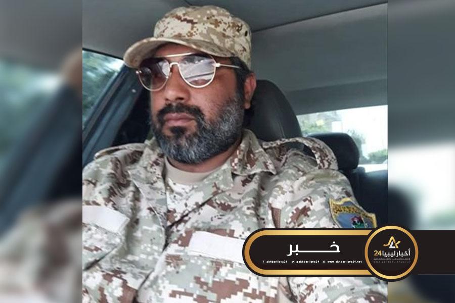 صورة قائد ميداني بكتائب مصراته يحرض على الانفصال وتقسيم ليبيا
