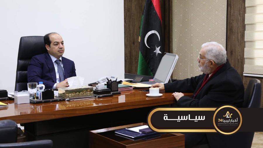 صورة معيتيق يكشف ترحيب حكومة الوفاق بتمسك جامعة الدول العربية باتفاق الصخيرات