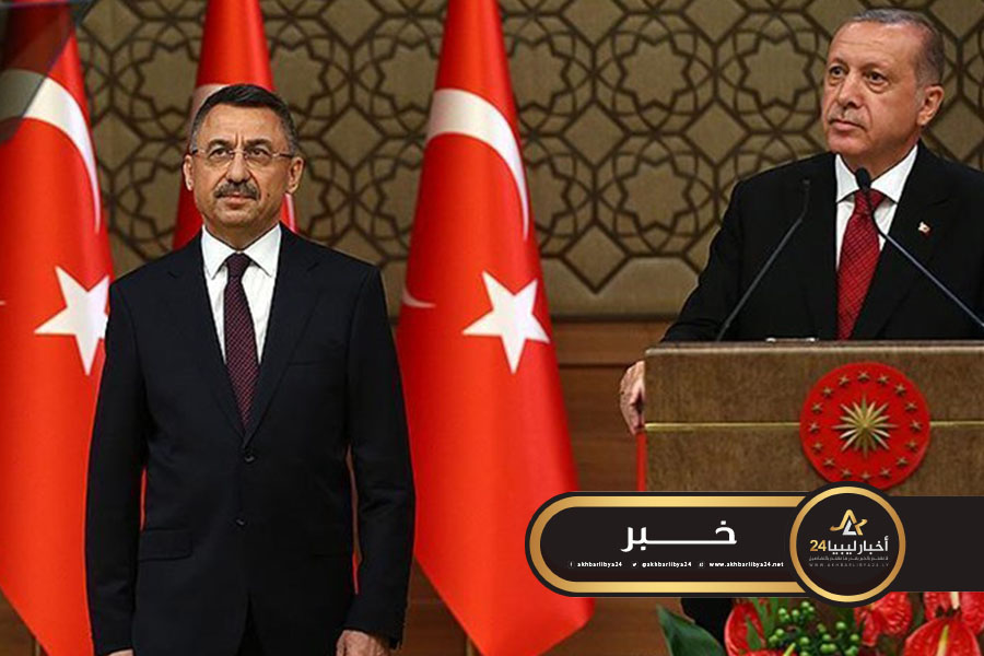 صورة نائب الرئيس التركي: مذكرة التفويض لإرسال جنود إلى ليبيا تسري لعام واحد