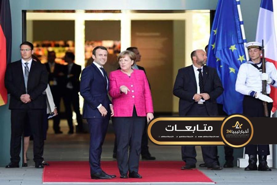 صورة دون فرض شروط مسبقة .. ماكرون: على الأمم المتحدة التفاوض على بنود هدنة في ليبيا