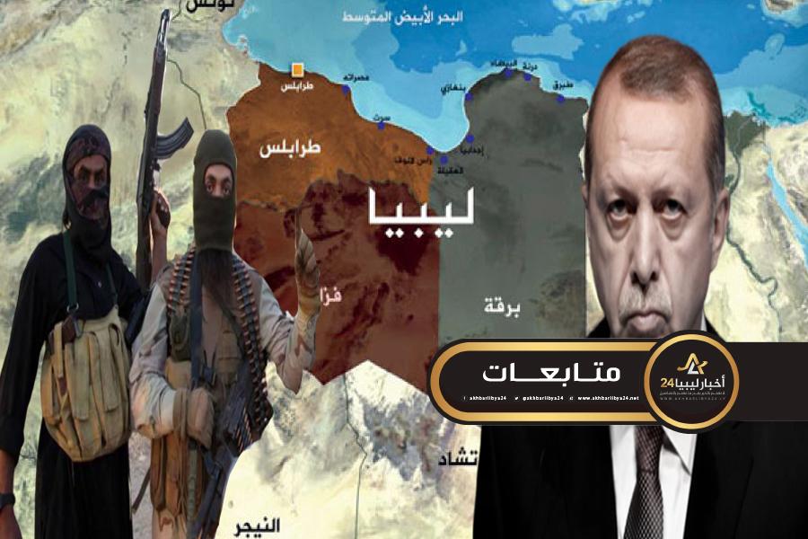 صورة إحداها عبر الدول الأفريقية المجاورة .. سياسي تركي يكشف طرق أردوغان لنقل المرتزقة لليبيا