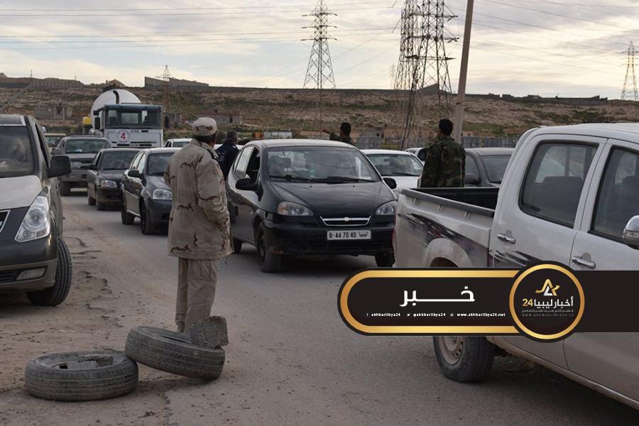 صورة لحفظ الأمن بالمدينة .. الأمن الداخلي طبرق يكثّف حملاته