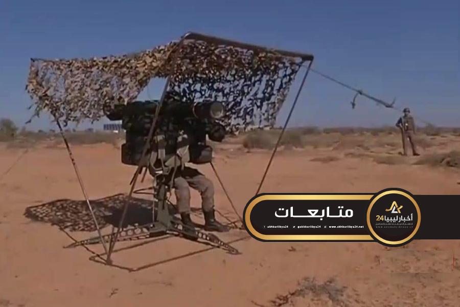 صورة تونس تنشر آليات دفاع جوي على الحدود الليبية