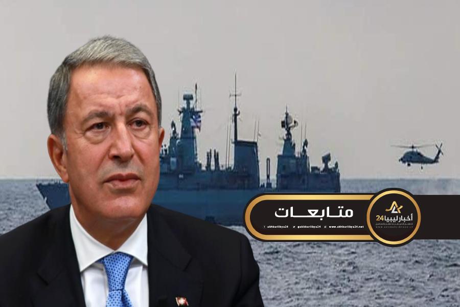 """صورة بعد الجدل الكبير حولها .. دفاع تركيا تعترف بإرسال فرقاطات عسكرية إلى ليبيا لمساندة """"الوفاق"""""""