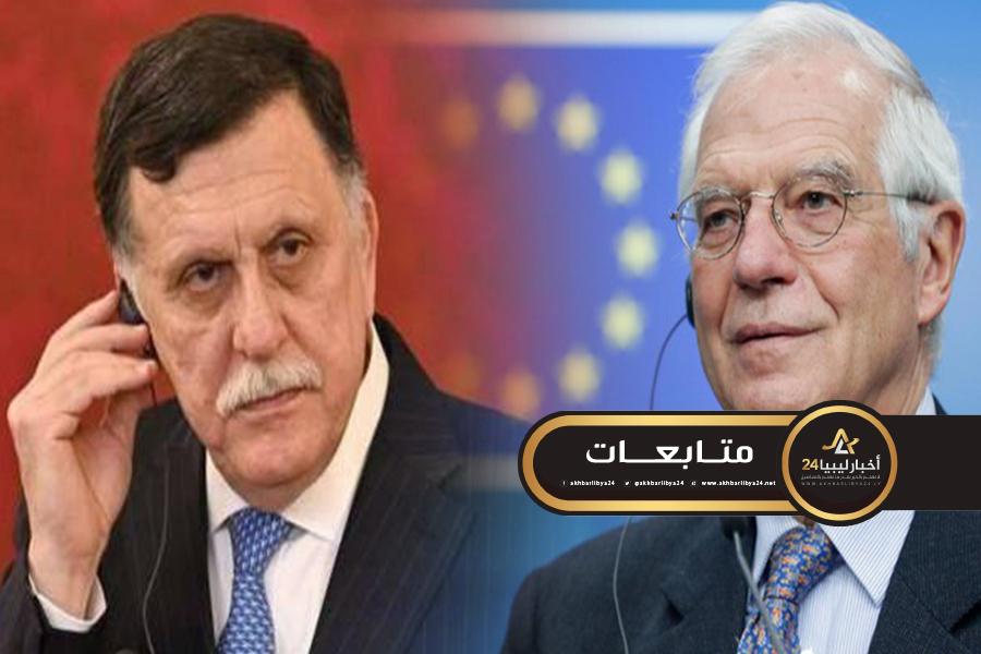 صورة خلال لقائه بالسراج .. ميشيل : مذكرة التفاهم مع تركيا تنتهك سيادة بعض الدول