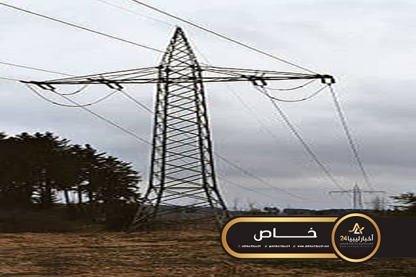 صورة مسؤول: شركة الكهرباء المصرية تزود الشبكة الليبية بـ 100 ميغا وات