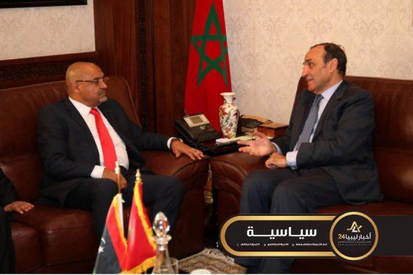 صورة النواب المغربي يؤكد دعم مجلس النواب الليبي ورفض التدخل الخارجي في ليبيا