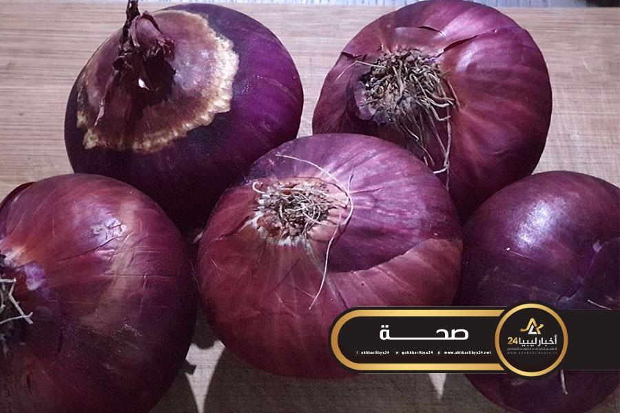 صورة مركز الرقابة على الأغذية يحذر من تناول البصل الذي يحتوي على بقع تعفن