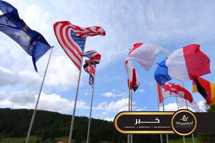 """صورة دول كبرى والبعثة الأوروبية ترحب بـ""""التقدم الكبير"""" في المحادثات العسكرية الليبية"""