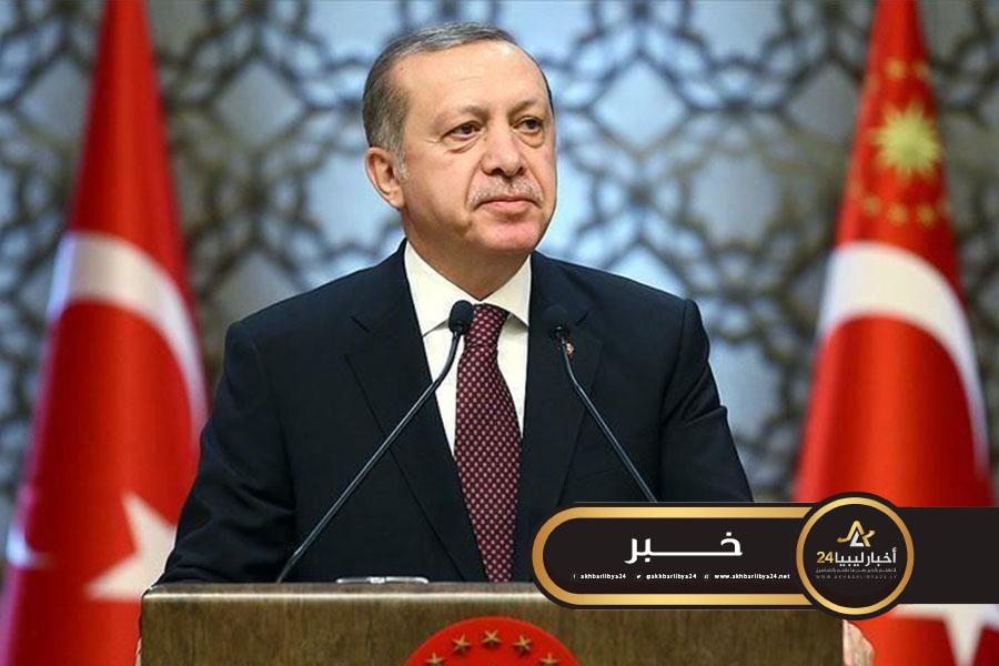 صورة أردوغان يدعو الرأي العام الدولي إلى دعم حكومة الوفاق لمواجهة حفتر