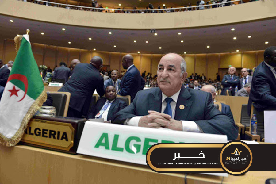 صورة تبون: الجزائر تدعم جهود إنهاء الاقتتال في ليبيا وتهيئة الحوار بين الليبيين