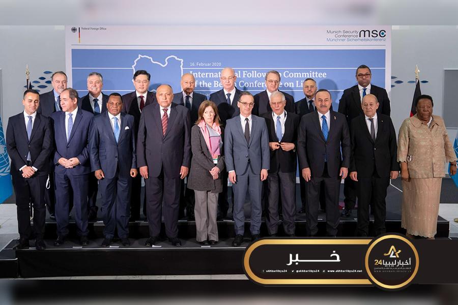 صورة اللجنة الدولية بشأن ليبيا تشدد على التنفيذ الكامل لمخرجات برلين